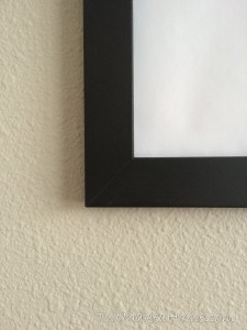 DIY Poster Frames for Less than $4!