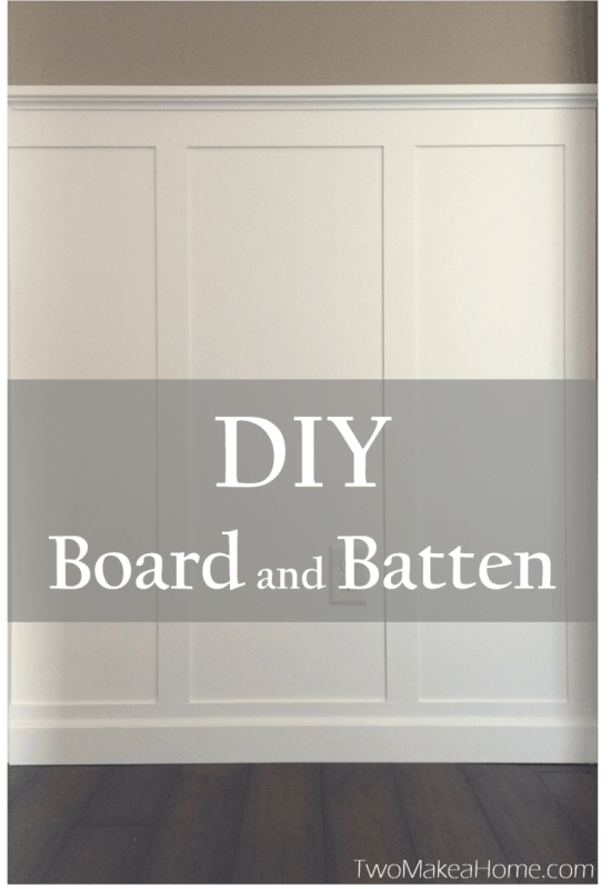 DIY Board and Batten